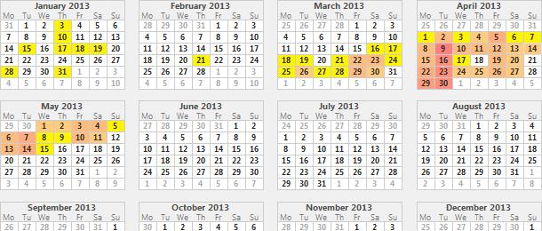 Calendar View for Xojo - Software Design & Development by Jeremie ...