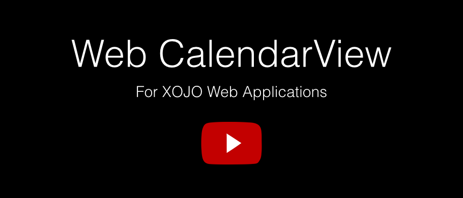 Web CalendarView video presentation